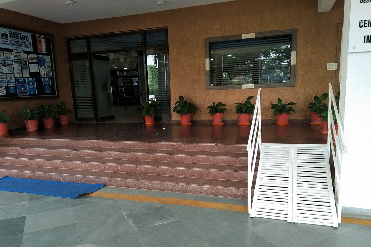 wheelchair accesible entrance, top 10 engineering colleges in bhopal, btech admissions