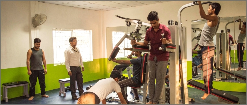 gym facility, top private engineering colleges in mp, list of engineering colleges in bhopal